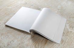 Blank magazine template Royalty Free Stock Image
