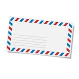 Blank mailing envelope Stock Photos