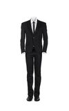 Blank male business suit Royalty Free Stock Image