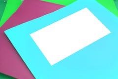 blank mapp arkivfoto