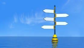 Blank maritime signal Stock Photo