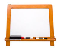 Blank Markerboard on white Royalty Free Stock Image