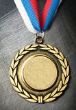 Blank medal Royalty Free Stock Images