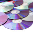 Blank Media Disks Royalty Free Stock Images