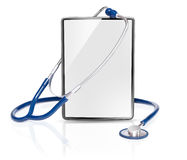 Blank medical tablet Royalty Free Stock Photo