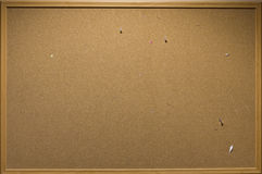 Blank memo cork board isolated Royalty Free Stock Images