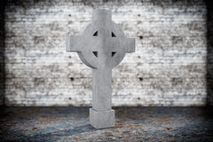 Blank Memorial Gravestone Royalty Free Stock Photos