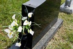 Blank Memorial Stone Stock Photo
