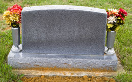 Blank Memorial Stone Royalty Free Stock Photography