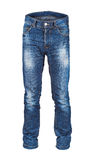 Blank men's jeans Royalty Free Stock Images