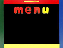 Blank menu Royalty Free Stock Photos