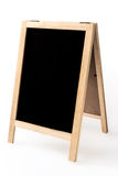 Blank menu blackboard display isolated Stock Photos