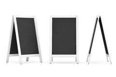 Blank Menu Blackboards Outdoor Display Royalty Free Stock Photo