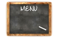 Blank Menu Illustration Stock Photography