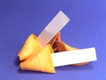 Blank Messages. Fortune cookies with blank messages. You can add your own idea stock photos