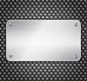 Metallic banner Stock Photos