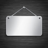Metallic tablet Stock Image