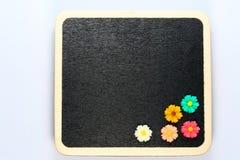 Blank mini blackboard Royalty Free Stock Images