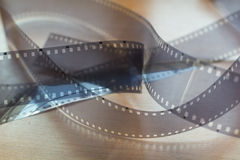 Blank 35mm film Royalty Free Stock Images