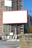 Blank mock up of billboard with copy space for text or image Royalty Free Stock Photos
