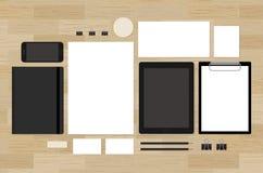 Blank mock-up for brand design presentation on Stock Images