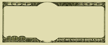Blank money background Stock Photos