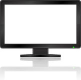 Blank Monitor Royalty Free Stock Photos