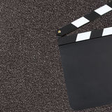 Blank movie clapper Royalty Free Stock Photography
