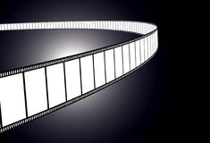 Blank movie/photo film. 3d illustration Stock Images