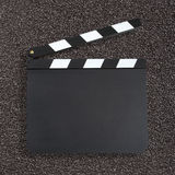 Blank movie production clapper Royalty Free Stock Photo