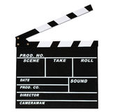 Blank movie production clapper board. On white background Royalty Free Stock Photos
