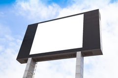 Blank multimedia billboard Stock Photos