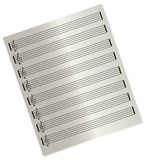 Blank music sheet Royalty Free Stock Photo