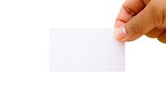 Blank namecard Royalty Free Stock Photo