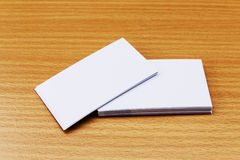 Blank namecard Stock Images