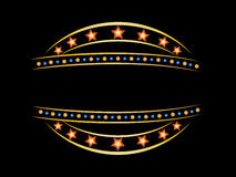 Blank neon sign Royalty Free Stock Photos