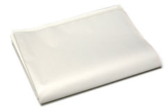Blank newspaper. On white background Stock Photography