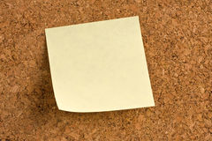 Blank note Stock Photography