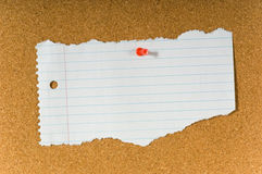 Blank note Royalty Free Stock Images