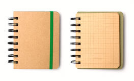 Blank note book Royalty Free Stock Photos