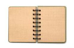 Blank note book Stock Photo