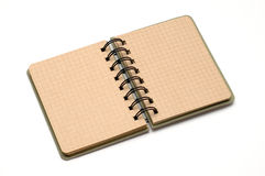 Blank note book Stock Photography