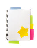 Blank note book Royalty Free Stock Photo