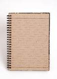 Blank note pad. With single lines paper stock photo