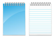Blank Note Pad EPS Royalty Free Stock Photography