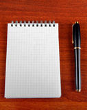 Blank Note Pad Stock Photos