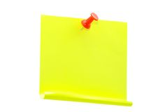 Blank note paper Royalty Free Stock Image