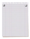 Blank note paper. Stock Photos