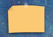 Blank Note Paper Stock Photography