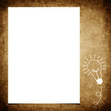 Blank note paper on grunge background Royalty Free Stock Photo